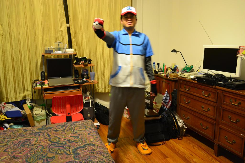 10-31-2014 - Me as Satoshi (Ash Ketchum) BW 5 by latiasfan2004