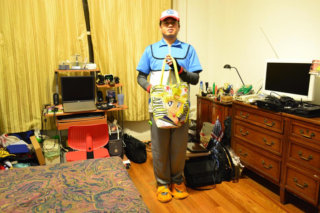 10-31-2014 - Me as Satoshi (Ash Ketchum) BW 6 by latiasfan2004