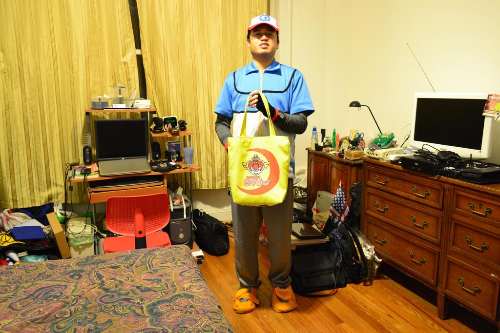 10-31-2014 - Me as Satoshi (Ash Ketchum) BW 7 by latiasfan2004