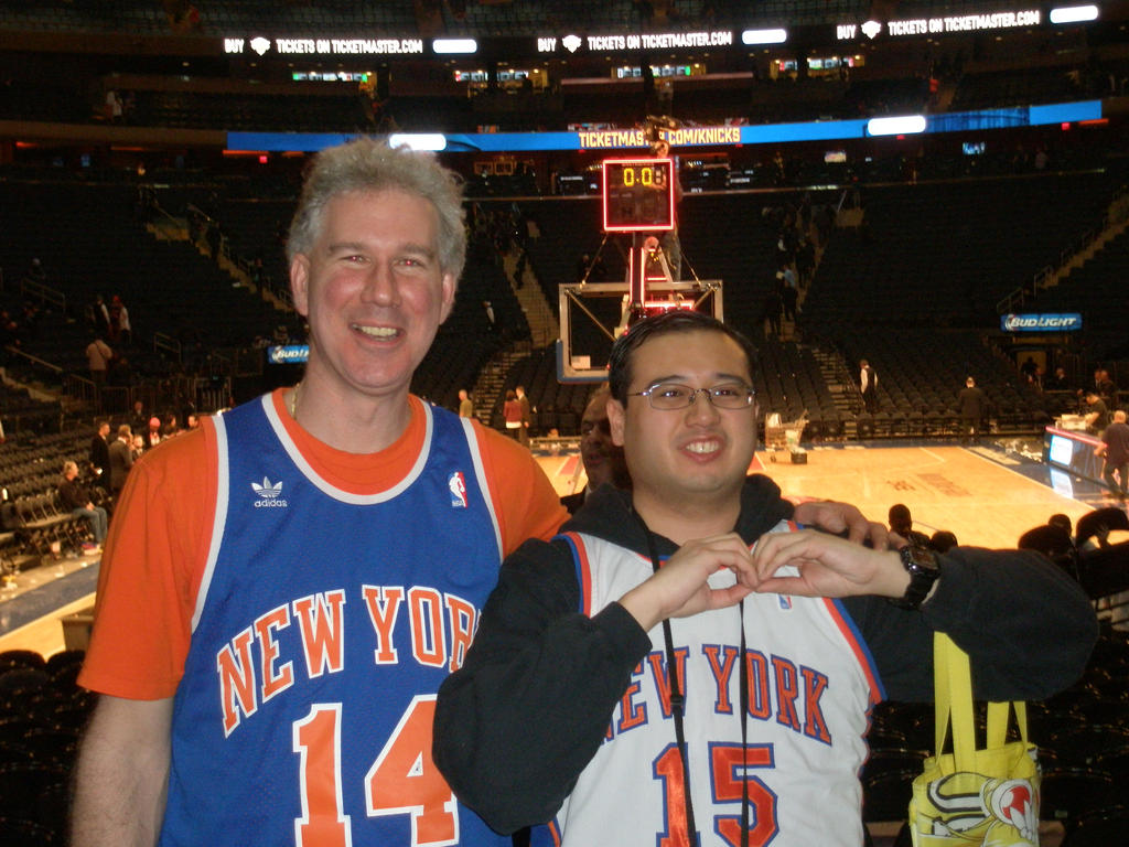 02-28-2015 - Me at a Knicks Game 2 by latiasfan2004