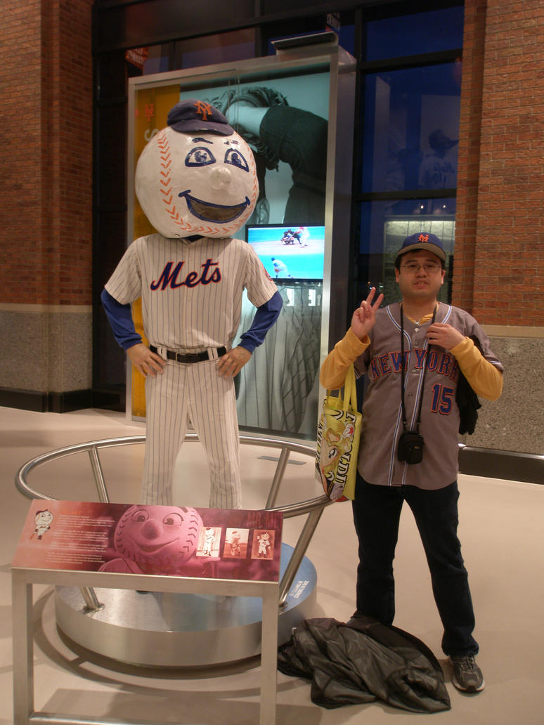04-17-2015 - Me with Mr. Met 1 by latiasfan2004