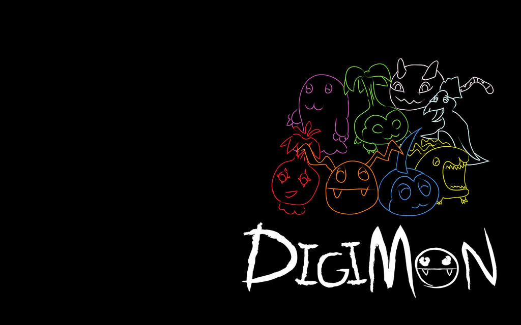 Digimon Wallpaper 2 by KingCrasher on DeviantArt