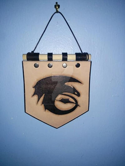 HTTYD Toothless clan banner by PracticalApplication