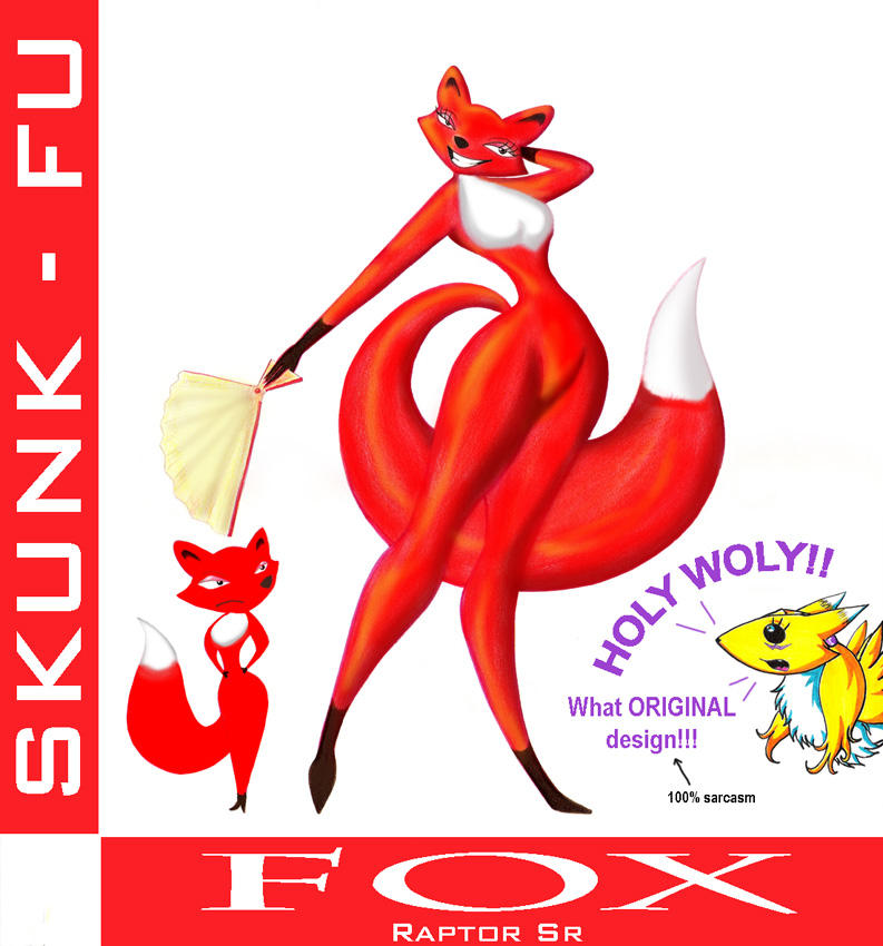Fox And Rabbit Skunk Fu Favourites By Classof2012 On