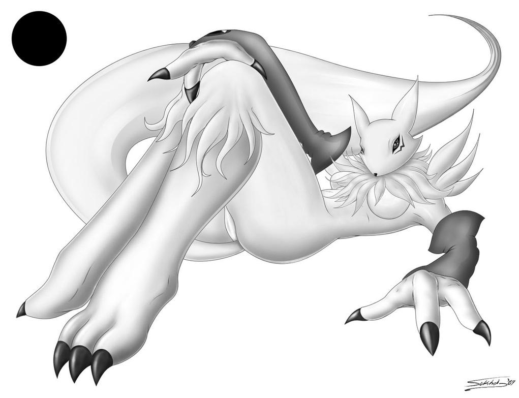 Renamon yinyang by raptorsr