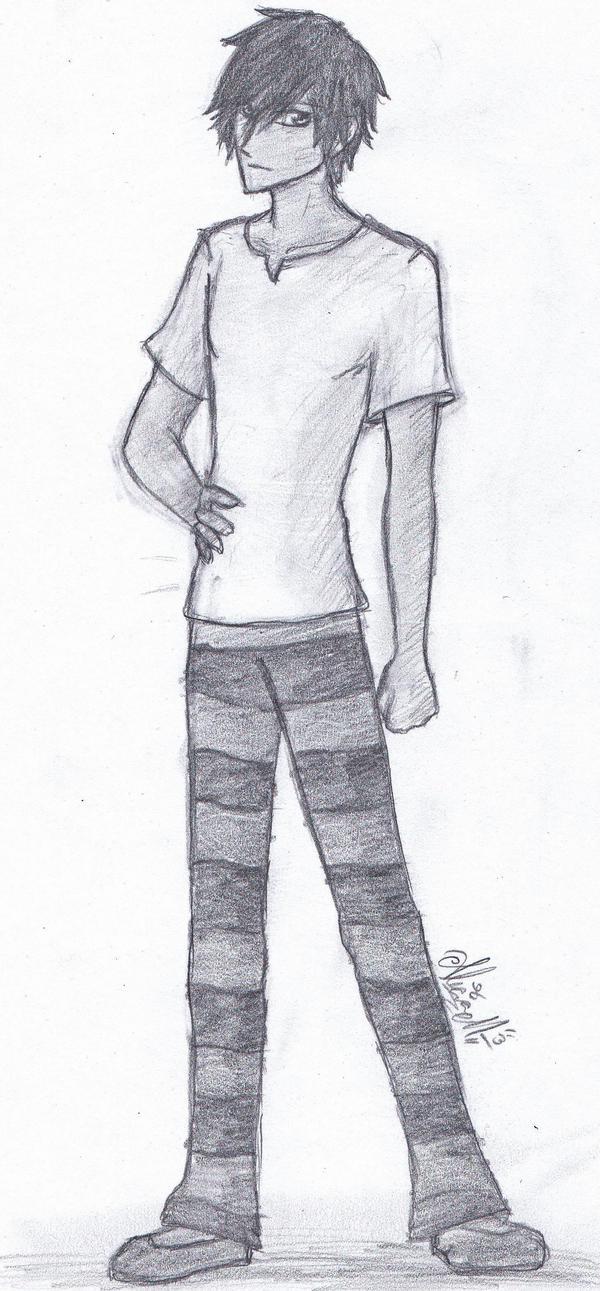 Starlee Sketch OC by ajbluesox