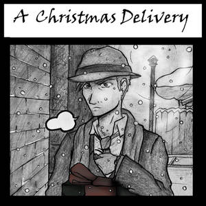 A Christmas Delivery - Comic Cover