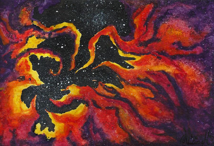 Dragon-fire-galaxies by ajbluesox