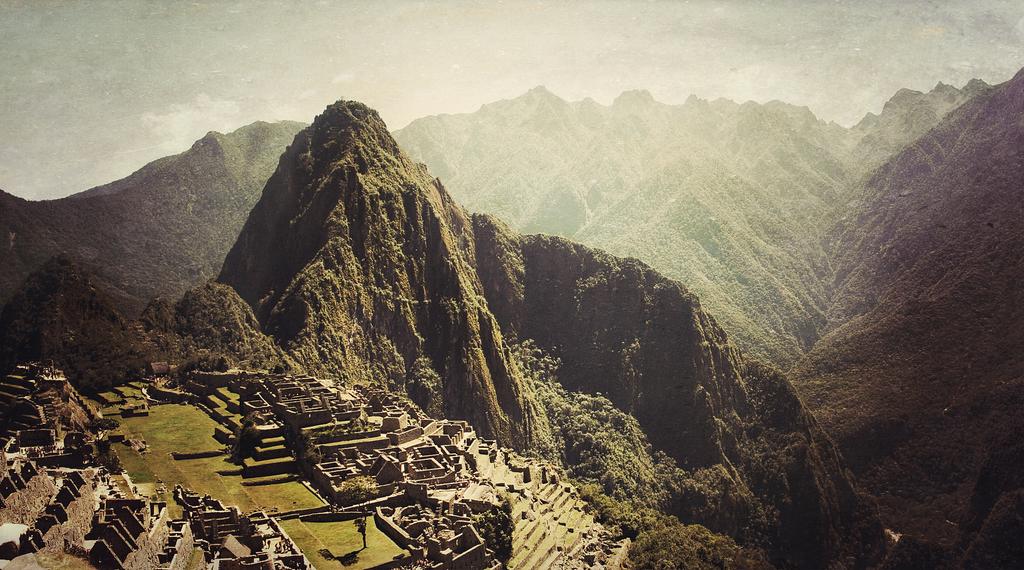 Machu Picchu. by bluetogray