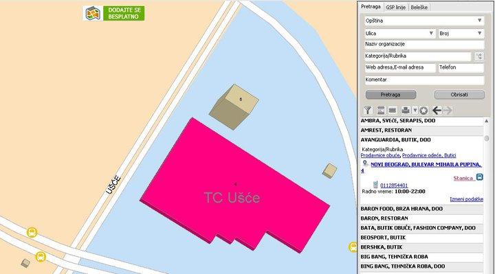 bing mapa beograda Infograd   Informator i mapa Beograda by Infograd on DeviantArt bing mapa beograda