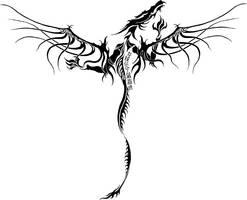 Dragons Bane - Tribal by takujii