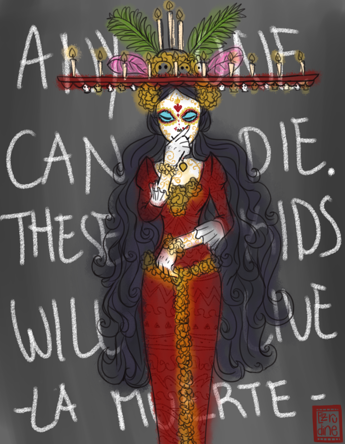 La Muerte by Ezrudine