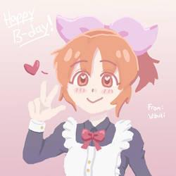 Nana Abe - Happy Bday, Shin! by animangeleon