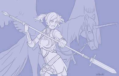 Cynthia, the heroic fave!
