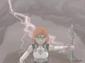 Nora, the powerhouse fave! by animangeleon