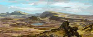 landscape by landobaldur