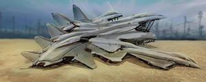 landing is easy, in the desert