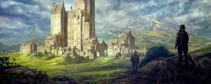 castle by landobaldur