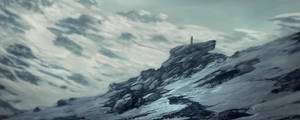 winter landscape by landobaldur