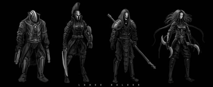 Vortex Flux - Character Divisions