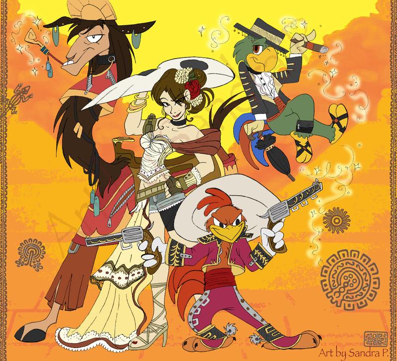 Team Fuego by roseandthorn