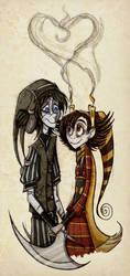 Zero and Sophia LAAAAV by roseandthorn