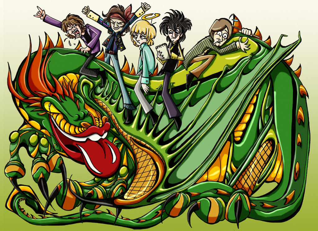 The Rolling Stones by roseandthorn