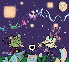 [ Tanabata Heroes ] Celebration !