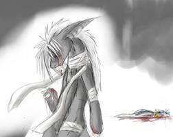 Tears of blood by hibikio