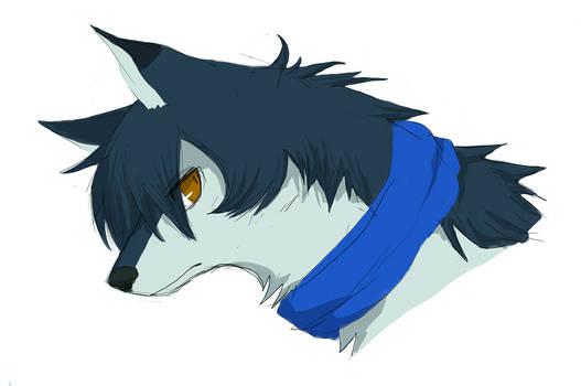 Wolf Child by hibikio