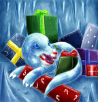 Stealing Christmas by hibikio