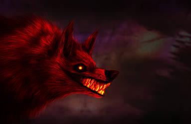 Hellhound by hibikio