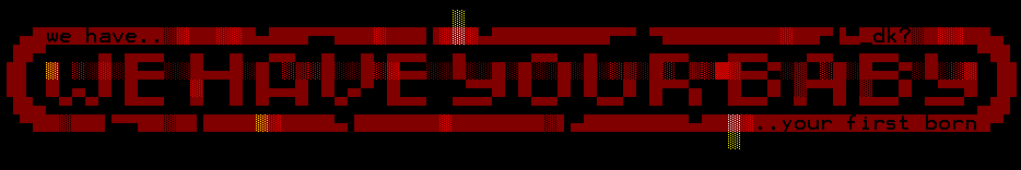 We Have Your Baby - Ansi 1 by mdkathon