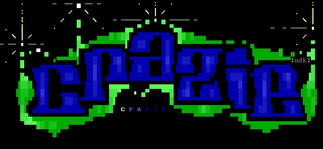 'Crazie' - Font logo by mdkathon
