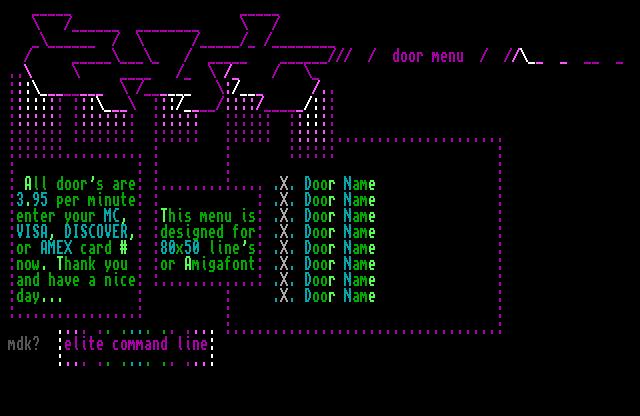 Zut - Door game menu. by mdkathon