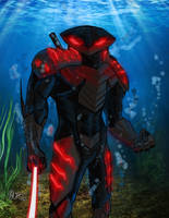 Black Manta Tryout by tinyguy712