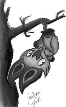 Inktober #8 Noibat's just hangin' around