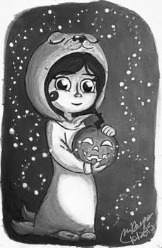 Inktober #16: Saoirse in costume