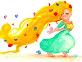 Rapunzel Running