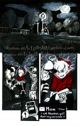 Urban Fable #1 page 1 by studio-m4r1p0s4