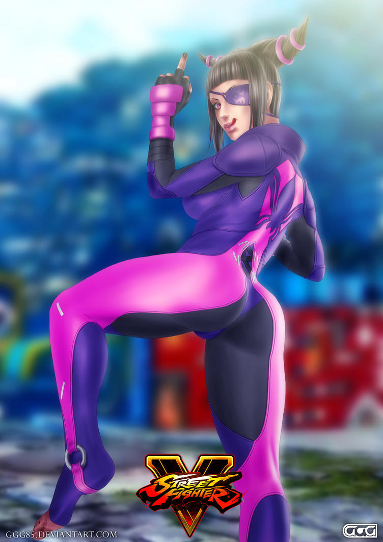 Juri (SFV version) 2 by GGG85