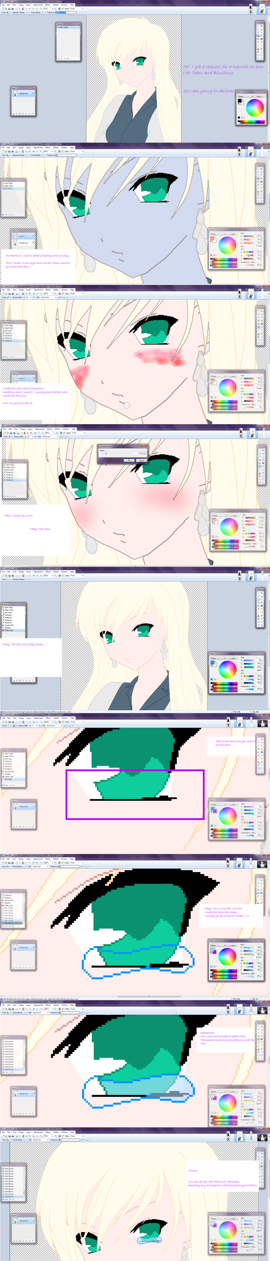 Blush And Tears Tutorial. By Angelblackroses On DeviantArt
