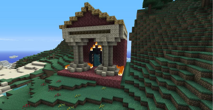 minecraft - another temple by JeiFaeKlubs on DeviantArt