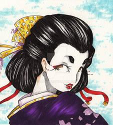 Haru geisha by Fabiinhu