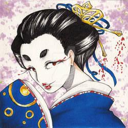 Ame geisha by Fabiinhu