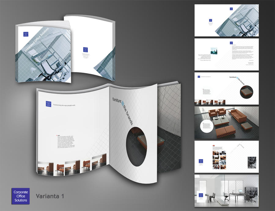 brochure layout by heranush