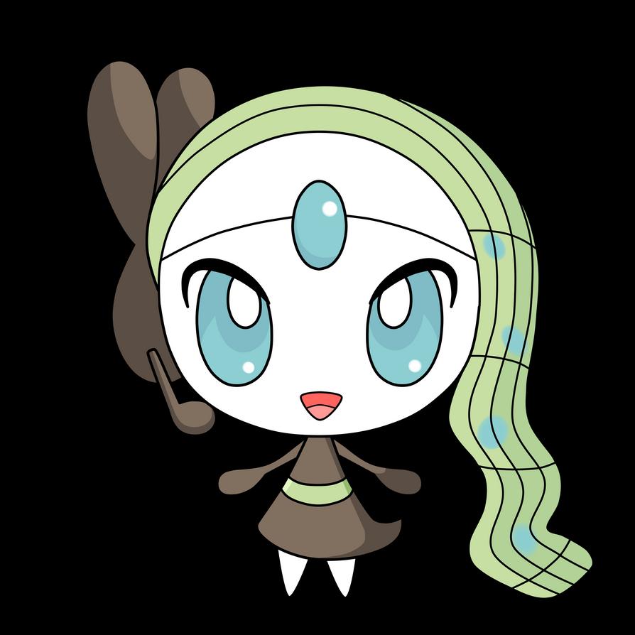 Pokemon Meloetta Gijinka Images | Pokemon Images