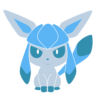 Glaceon Pokedoll label vector by yukimi2018