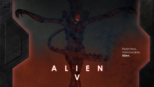 Alien V Concept Poster