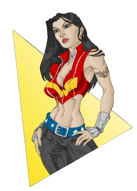 Ultimate Wonder Woman by GavinMichelli